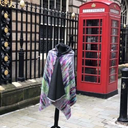 Multi Colours Cashmere Blend Luxury Wrap