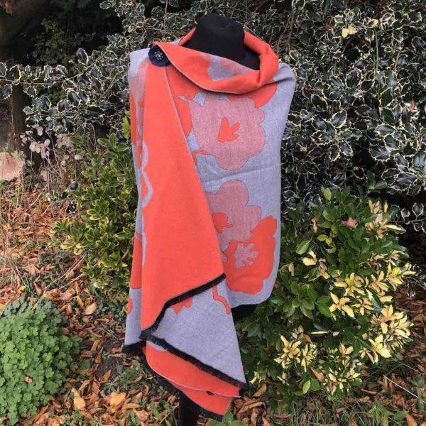orange bstract wrap