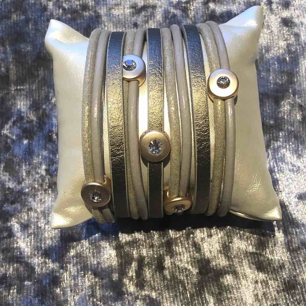 luxury wrap bracelet