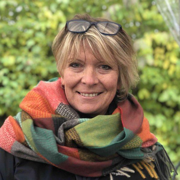 Green/Orange Squares Cashmere blend scarf