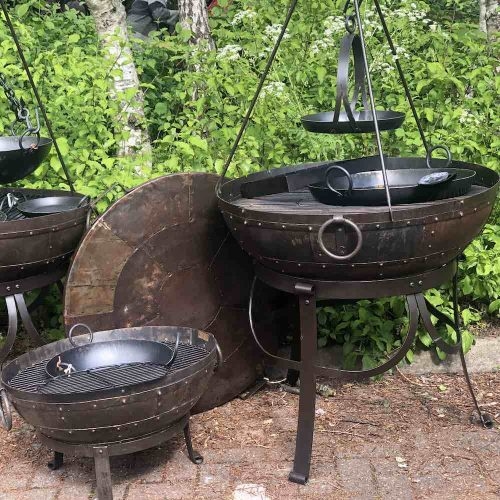 Kadai Fire Bowls and Accessories