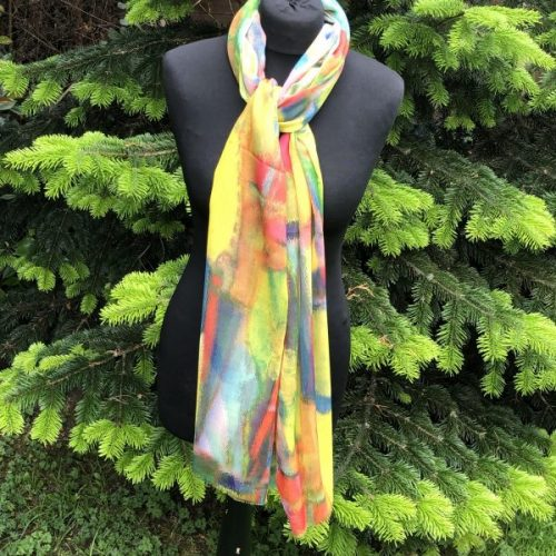 Summer Vibes  Lightweight Scarf
