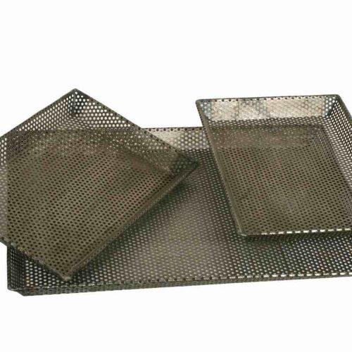 Set of Three Grill Trays