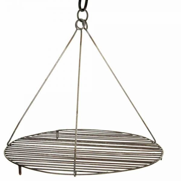 swing grill for hanging off kadai