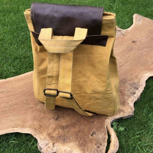 Vintage Canvas Shoulder Back Pack