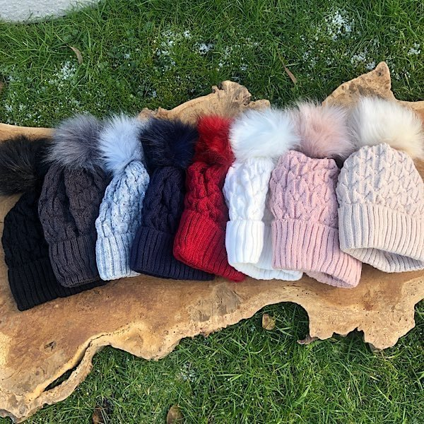 Range of hat colours