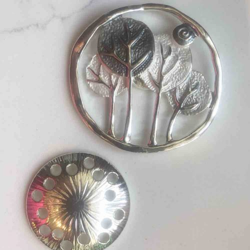 Mackintosh Tree Design Magnetic Brooch