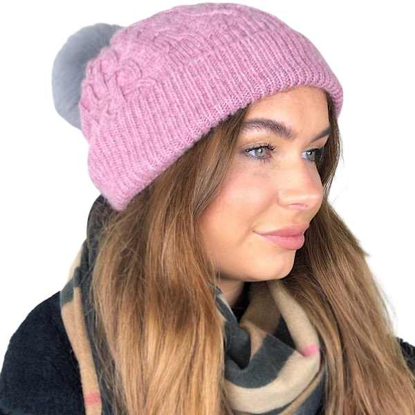 pink zelly hat