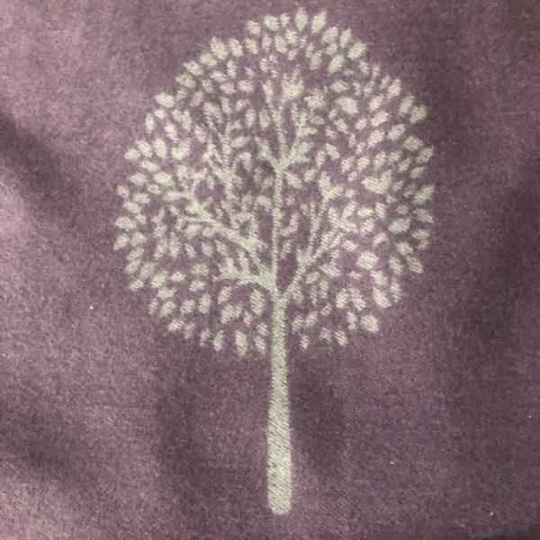 photo of motif on purple backgroundd