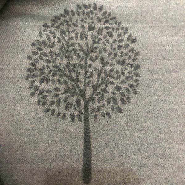 Grey mulberry tree on scarf