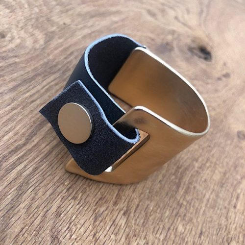 Rose Gold Coloured Cuff Bracelet