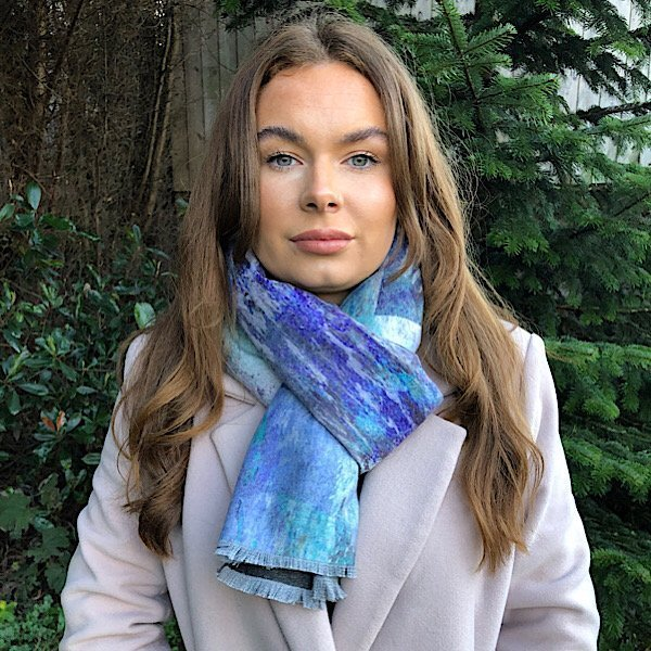 Blue waters Scarf