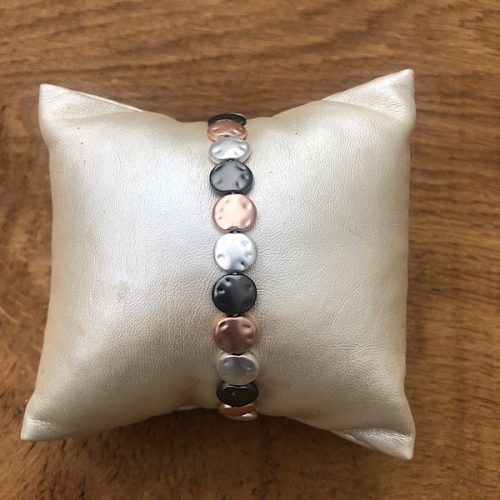 Adjustable Glide Tri Coloured Bracelet
