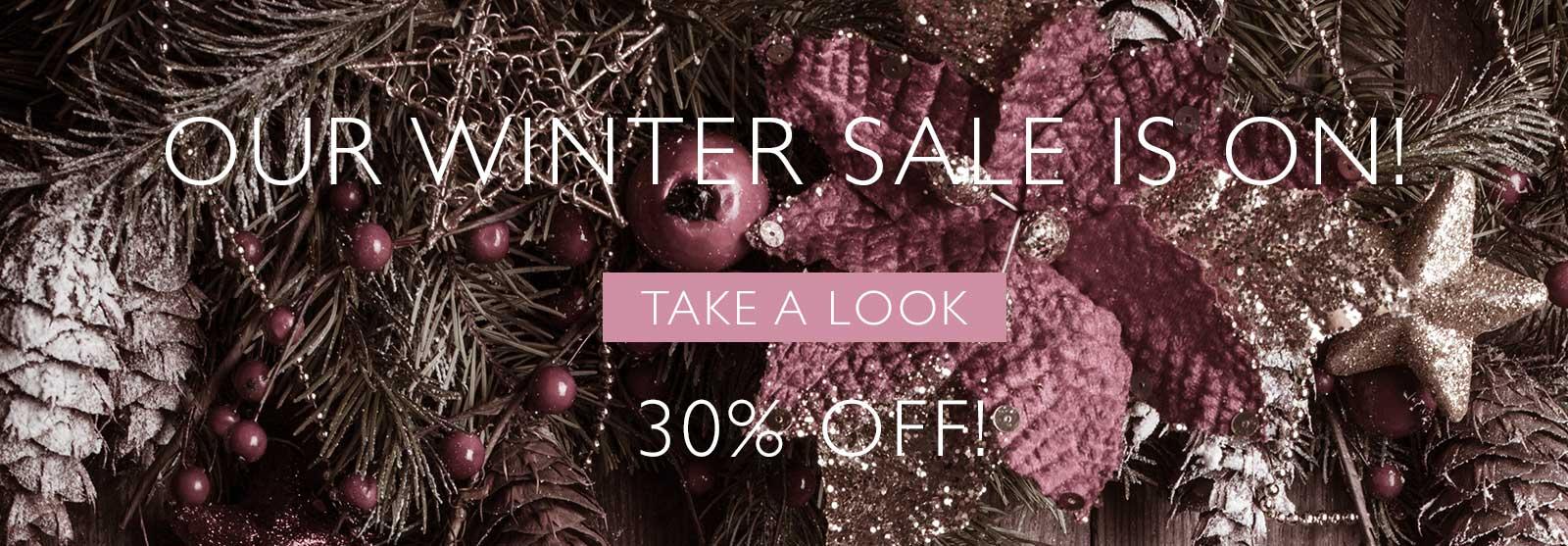 julia rose winter sale 30% off