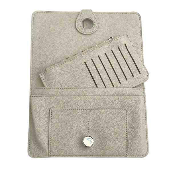 Grey Classic grain purse