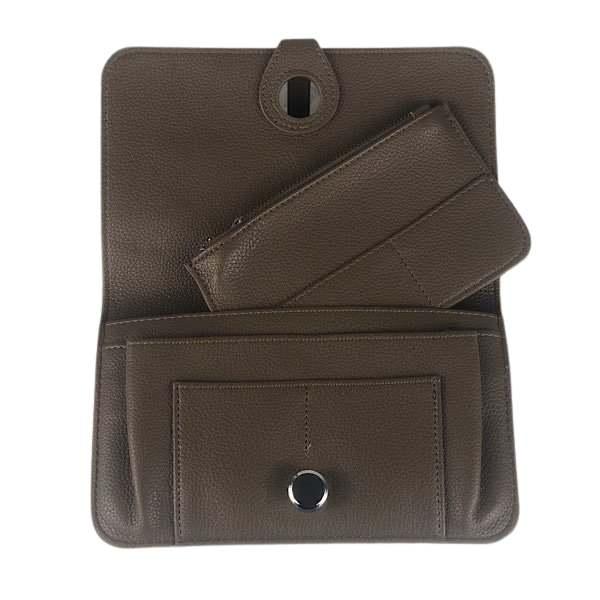 Mid brown purse