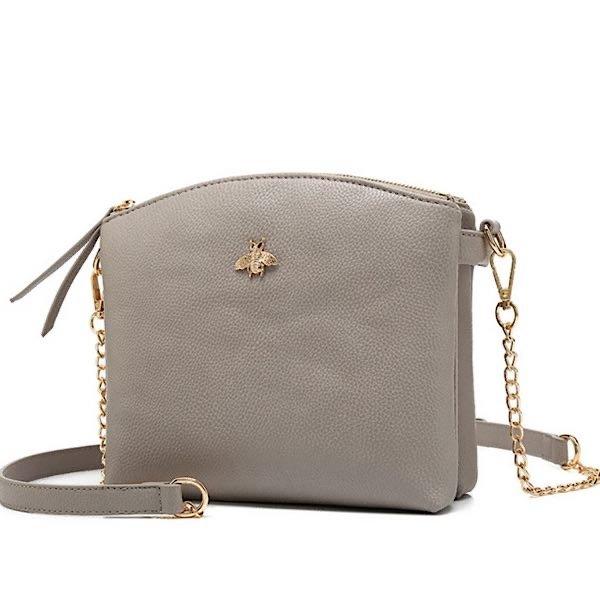 Grey Bee bag