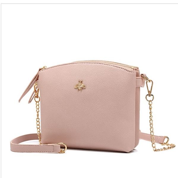 pink bee bag
