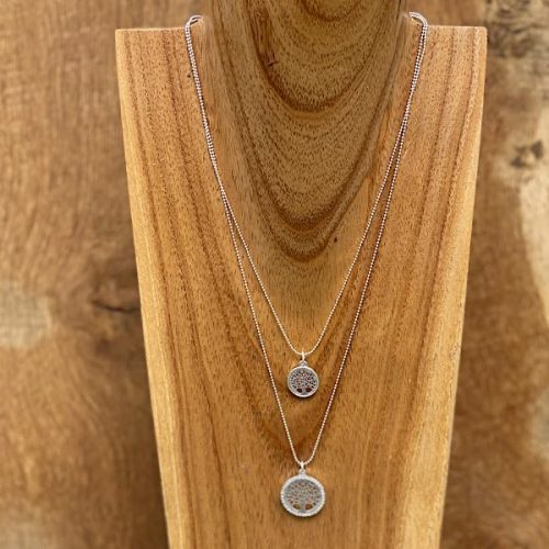 Two Layer Tree of Life Necklace