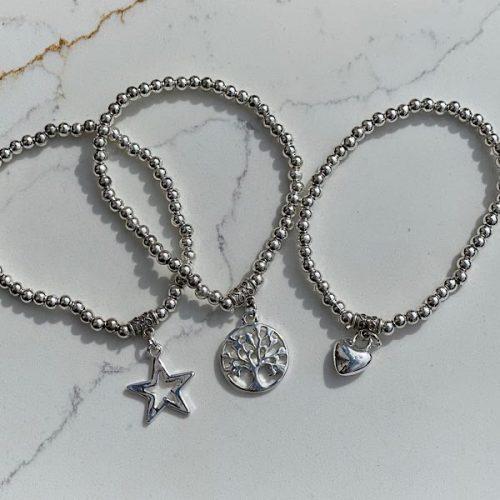 Elasticated Stacking Bracelets