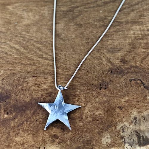 Quirky Star Long Necklace