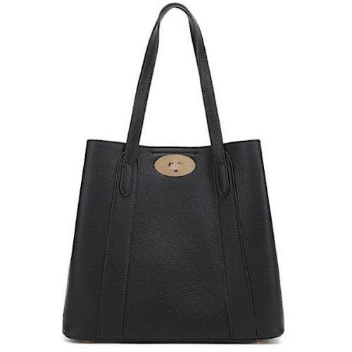 Classic Black Shoulder or Tote Bag