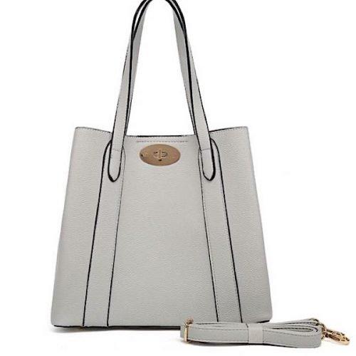 Classic Grey Shoulder or Tote Bag
