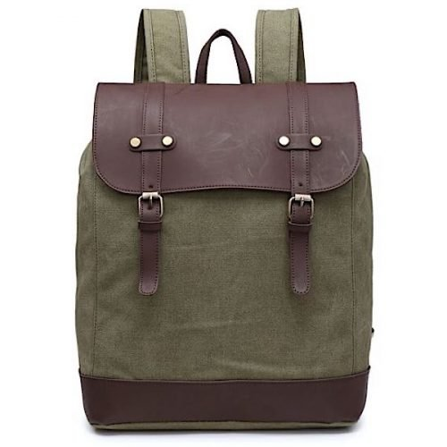 Unisex Quality Sage Green Backpack